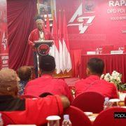 Komaruddin Ingatkan Badan Saksi Pemilu PDIP Papua Barat untuk Bekerja Baik