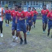Pemain Persewar Waropen Langsung Latihan Setiba di Kandang