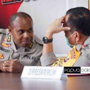 Sejumlah Pejabat Utama Polda Papua Barat Dimutasi