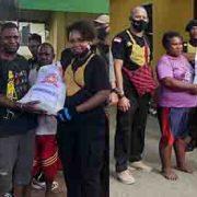 Aksi Kemanusian Komunitas Noken Bhayangkara Santuni Warga Kampung Nuni