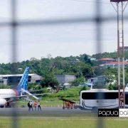 Tadi, Srwijaya Air dan Batik Air Landing di Bandara Rendani Manokwari