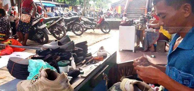 Cerita Hairuddin Ditengah Corona, Tinggalkan SP Demi Rp, Nyawa Keluarga di Ujung Jarum