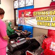 Setetes Darah Anggota Brimob Sangatt Berarti untuk Sesama