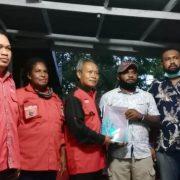 Daftar di DPC PDI Perjuangan Teluk Bintuni, PMK2 Optimis Kantongi Rekomendasi
