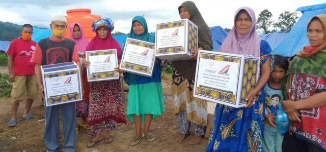 Sriwijaya Air Group Peduli, Lagi Sampaikan Bantuan Kemanusiaan ke Luwu Utara