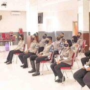 Direktorat Lalu Lintas Polda Papua Barat Latihan Pra Operasi Patuh Mansinam 2020