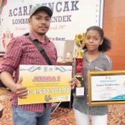 Juara 1 Lomba Video Peduli Covid-19 Se-Tanah Papua, Creator Video Givenly Frans : Pemerintah Harus Perhatikan Kreatifitas Akting Anak