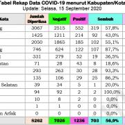 Tanggal 15, Tambah 51, Positif Papua Barat Jadi 1.236 Orang