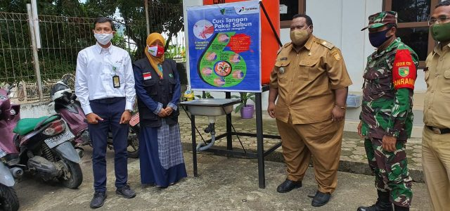 Dukung New Normal, Pertamina Resmikan Kampung Siaga Covid-19 di Kelurahan Imbi Kota Jayapura