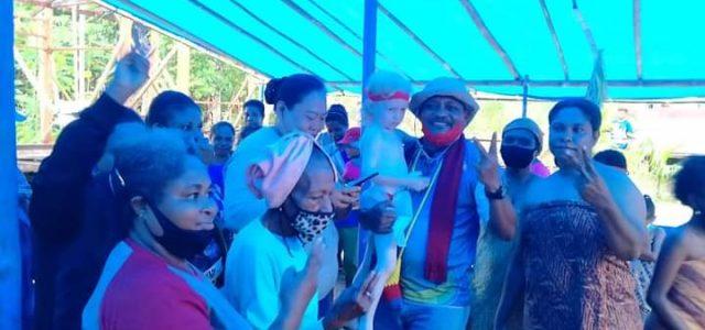 Dua Kampung di Distrik Kuri Siap Menangkan PMK2 100 Persen