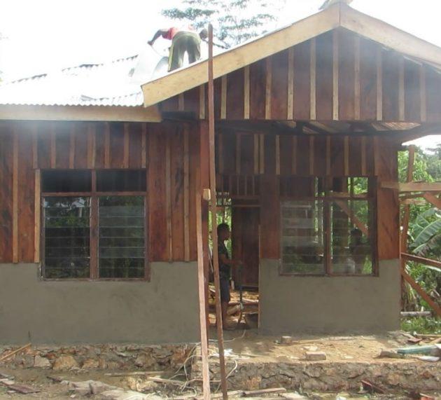 TMMD Kaimana Berakhir, Bangun 6 unit Rumah di Daerah Terisolir