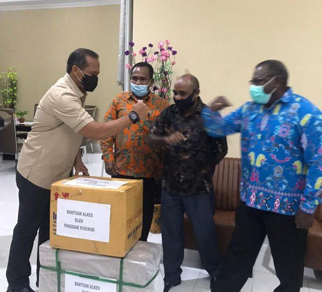 Apresiasi Pelaksanaan Pilkada Teluk Bintuni, Pangdam Minta Protokol Ksehatan Ditingkatkan