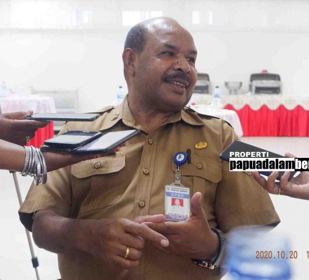 Positif Corona Papua Barat Turun, Sembuh Naik, Meninggal Meningkat