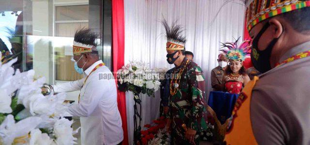 Presiden dan Gubernur Resmikan TVRI Papua Barat, Jadilah Media Pemersatu Bangsa