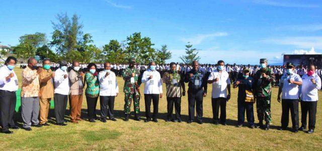 Kuota 1.000 yang Daftar 1.352, Ini Pesan Gubernur dan Pangdam Kasuari pada Calon Bintara TNI Jalur Otsus