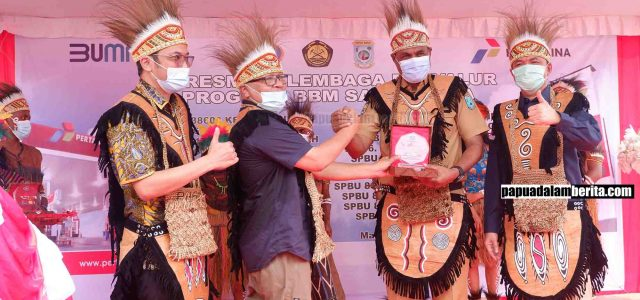 Peresmian 15 Lokasi BBM Satu Harga di Manokwari Apresiasi BPH Migas untuk Papua