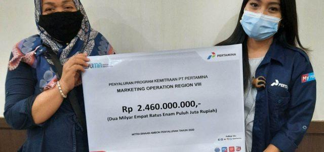 Pertamina Salurkan Rp6.42M ke 92 Mitra Binaan di Maluku
