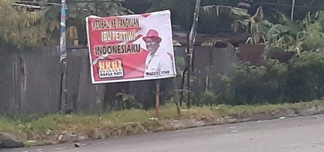 """Tersebar Spanduk Ajakan Markus Yenu """"Merah Putihkan"""" Tanah Papua, Ketua DPRD Ini Pesen Positif"""