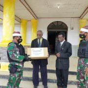 Yonif Raider 500/Sikatan Rayakan Natal Bersama Masyarakat Pedalaman Papua