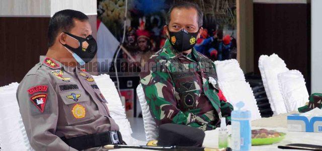 Kapolda Papua Barat Sampaikan 7 Arahan Kapolri, Lakukan Diteksi Dini dan Waspada
