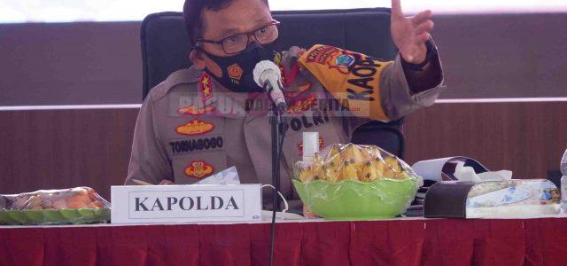 Kapolda Papua Barat Sebut Ini Saat Press Release Akhir Tahun