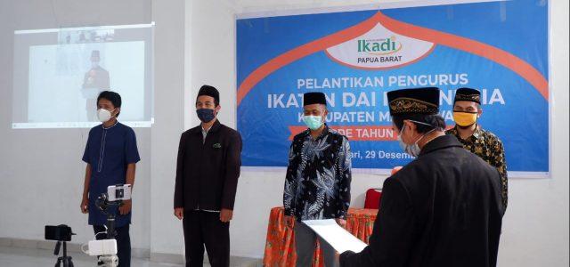 Pengurus IKADI Manokwari dan Sorsel Dilantik, Ini Pesan Ketua PW IKADI Papua Barat