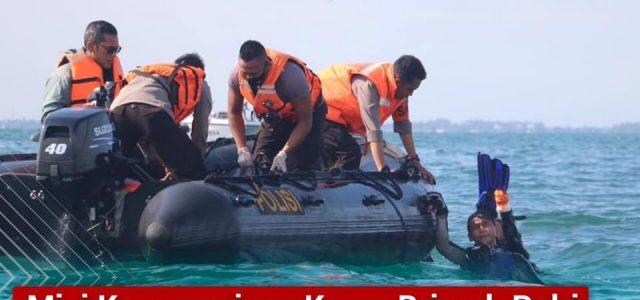 Misi Kemanusiaan Korps Brimob Polri Dalam Evakuasi Korban Jatuhnya Pesawat Sriwijaya Air