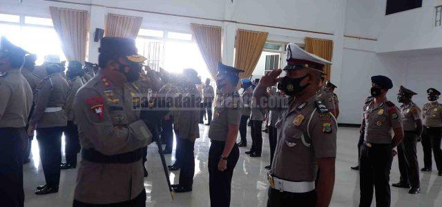 Kapolda Pimpin Korps Raport, 650 Personil Polda Papua Barat Naik Pangkat, 4 AKBP Jadi Kombes