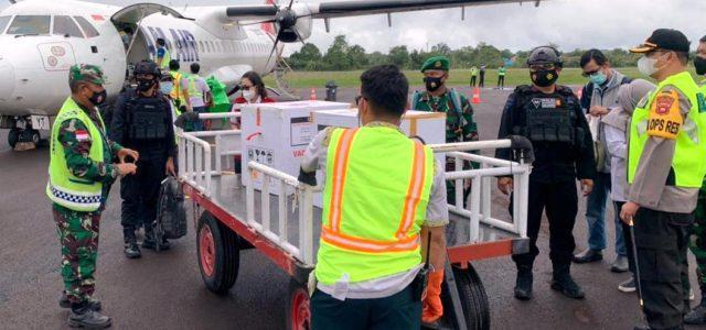 NAM Air Dipercaya Antarkan Vaksin ke Wilayah di Kalimantan Barat