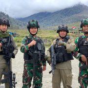 Wadan Sat Brimob Polda Papua Melaksanakan Asistensi di Pos Sinak