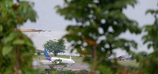 Pesawat Sriwijaya Sj 182 Dalam Kondisi Laik Udara Sebelum Terbang