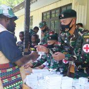 Satgas YR Sikatan Gelar Pengobatan Gratis untuk Warga Pedalaman Papua