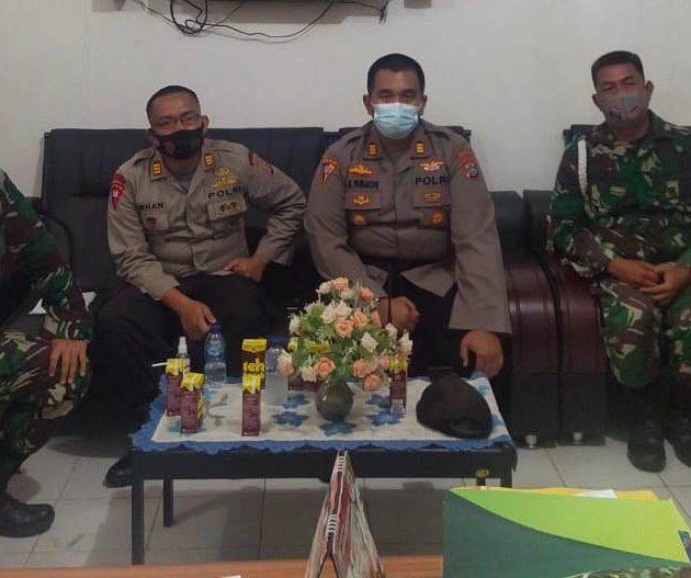 Sat Brimob, Polres, Kodim, POM TNI dan Kesbangpol Evaluasi Kinerja Pos Warior Sanggeng