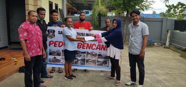 Dua Ormas Beri Bantuan Untuk Korban Bencana Galela Maluku Utara