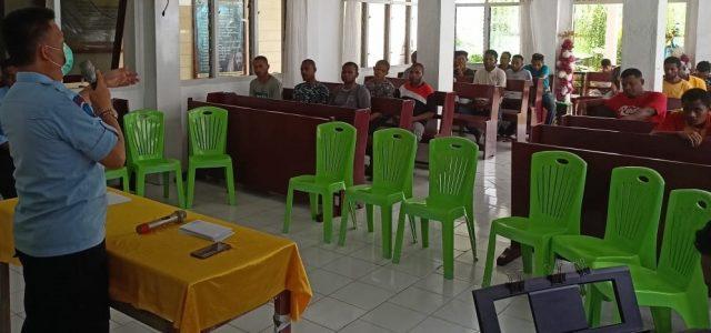 Warga Binaan Lapas Manokwari Ikut Lomba Cerdas Cermat Alkitab