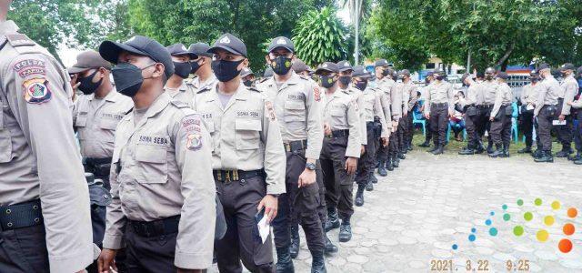 Siswa Diktuk Bintara Polri Kiriman Polda Papua Barat Disuntik Vaksin Dosis Dua
