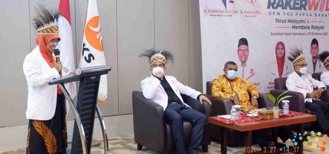 Anggota DPR RI Fraksi PKS: Harus Satu Kursi DPR RI dari PKS Papua Barat