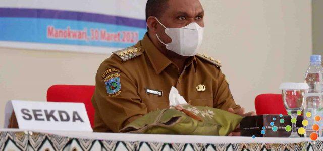 Hermus Bawa Pesan Kesahatan dan Kedamaian Manokwari di Forum Perangkat Daerah