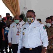 Perdana, Bupati Manokwari Hadiri Undangan Forkopimda, Sekaligus Disuntik Vaksin COVID-19