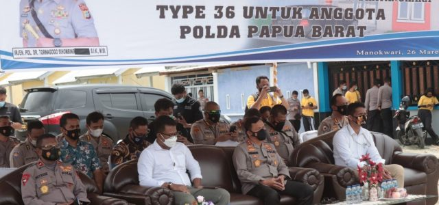 Dimulai Pembangunan Perumahan Bhayangkara Polda Papua Barat