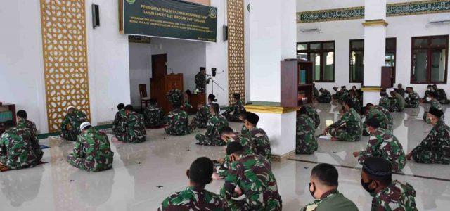 Kodam Kasuari Peringati Isra Mi'raj Rasullah Muhammad SAW 1442 Hijriyah