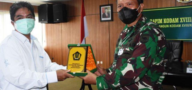Rapim Kodam XVIII/Kasuari 2021, Empat Satker Terima Penghargaan dari DJA PB dan KPPN Manokwari