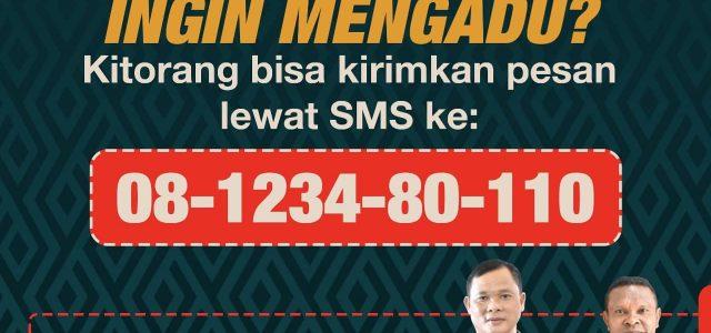 Ada Masalah? SMS ke Ini: 08-1234-80-110, Otomatis Ter-Forward ke Kapolda Papua Barat
