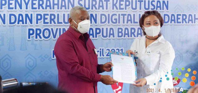 Dominggus Mandacan: TP2DD Sebagai Upaya Percepatan Pemulihan Ekonomi Digital Papua Barat