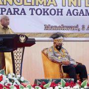 Hebatnya Gubernur Papua Barat, Depan Panglima TNI Minta Tambah Kuota Bintara TNI AU-TNI AL Untuk OAP