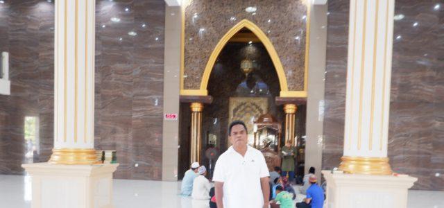 Kemegahan Masjid Al Mutaqim Kabupaten Bintuni