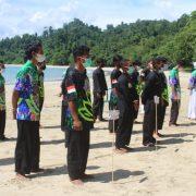 Yayasan Saroja Papua Gelar Kejuaraan Pencak Silat Pantai Pertama di Papua