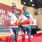 Pertama Tampil di PON, Dua Anggota Polisi Ini Persembahkan Emas untuk Papua