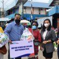 Tingkatkan Imunitas Pedagang, BRI Manokwari Bantu Vitamin dan Suplemen di Pasar Sanggeng