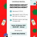 """Vaksinasi Massal Covid-19 dengan Tema : """"Indonesia Sehat, Indonesia Hebat"""" Akan Digelar di Fakfak"""